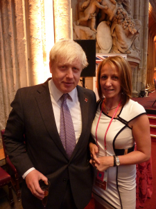 Giving Boris employment advice! ;)